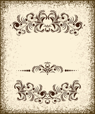 Set of vintage design elements Stock Vector - 12083989