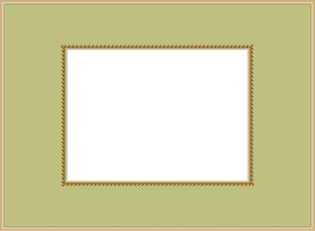 wedding photo frame: Golden Frame.