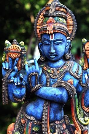 Standbeeld van Heer Krishna Stockfoto - 13595157