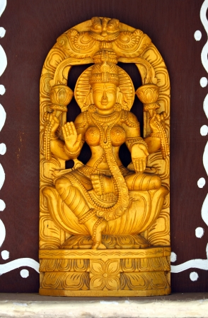 Hindu Goddess Lakshmi Stock Photo - 14058620