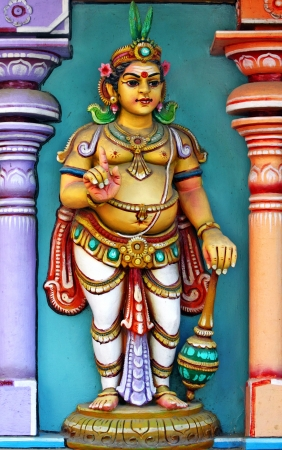 Indian Temple Statue  Stock Photo