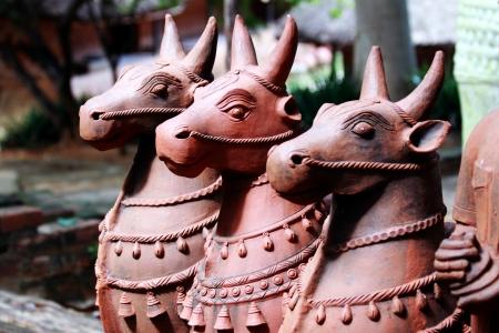Decorative Terracotta Cow