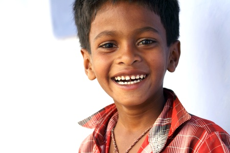Laughing Indian Boy photo