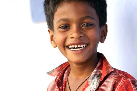 Laughing Indian Boy photo