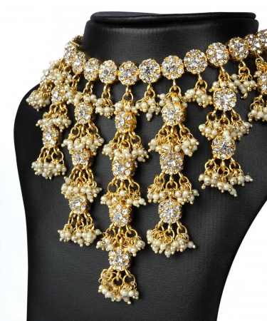 Indian Gold Necklace photo