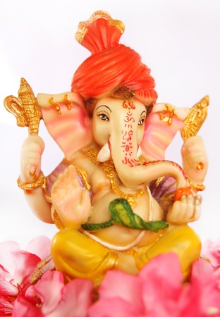 idool: Hindoe God Ganesha Stockfoto