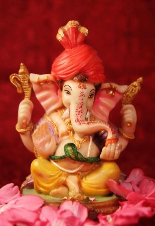 ganesh: Señor Ganesha Foto de archivo