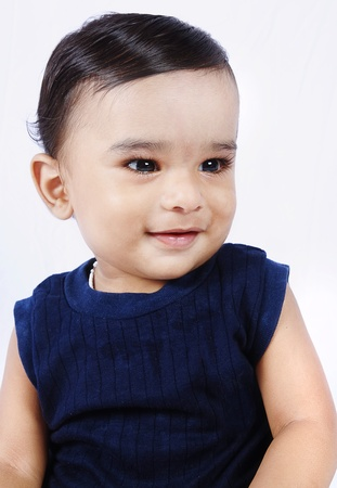 Smiling Indian Cute Baby photo