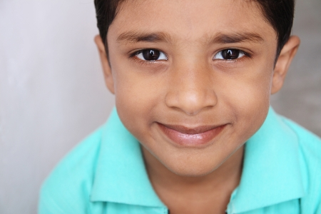 Portrait of Indian Boy photo