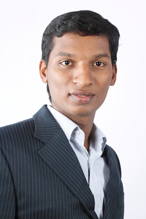 Indian Young Business Man photo
