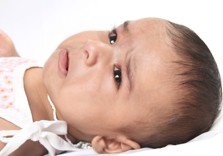 Crying Indian Baby photo