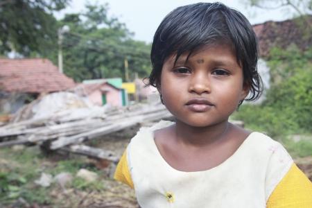 Indian Village Girl photo