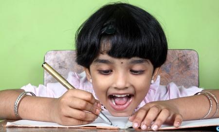 Indian School Girl