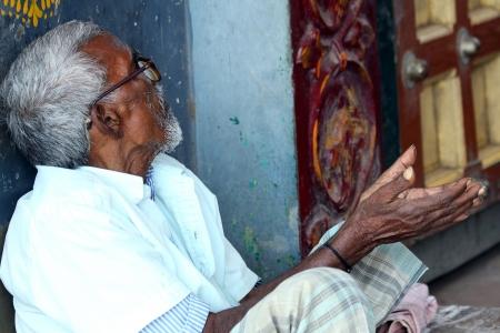 Aged indian Man Stock Photo - 113567539