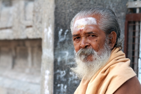 Indian sadhu Stock Photo - 20535301