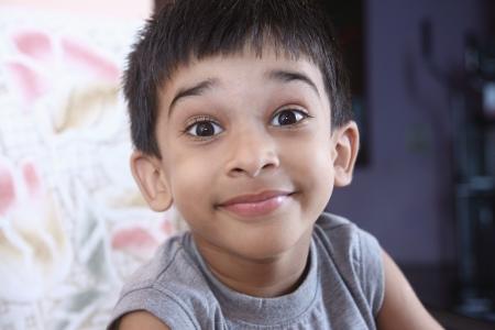 Cheerful Indian Boy