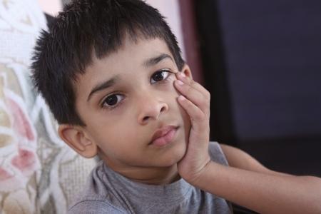 Indian Cute Little Boy photo