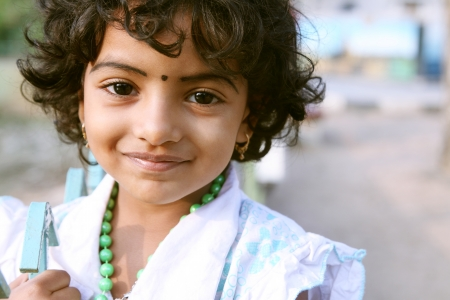 Portrait of Indian Girl