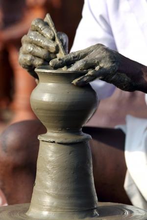 sculpting: Indian Potter