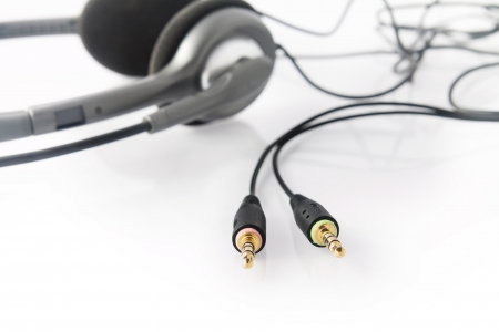 Headphone with socket jack photo