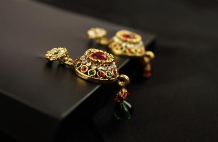 Pairs of earrings Stockfoto