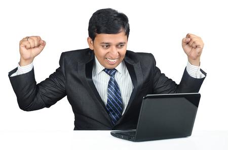 succesvolle Indische zakenman Stockfoto