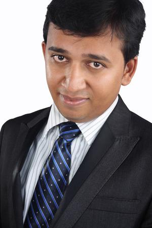 Portrait Indian Businessman Banque d'images