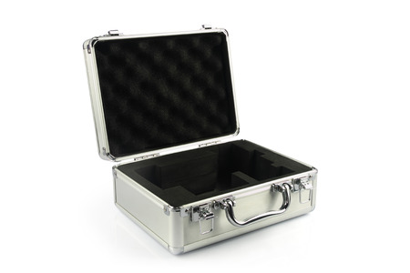 aluminum: Aluminum suitcase