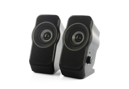 portable: Portable Speakers Stock Photo