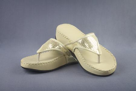 sandalia: Señoras de la sandalia Foto de archivo