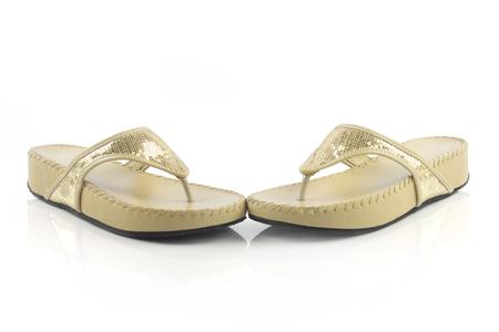 sandal: Señoras de la sandalia Foto de archivo