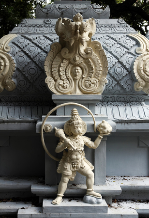 hanuman: Hindu God Hanuman Stock Photo