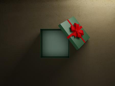 Cadeau-box Stockfoto - 47911485