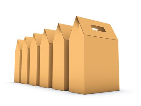Cardboard box 版權商用圖片 - 47911495