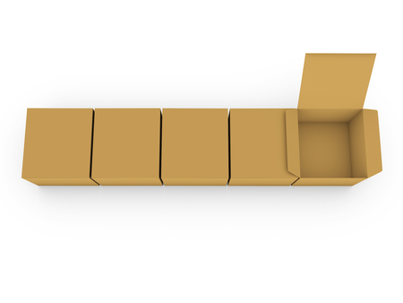 cardboard boxes: Cardboard boxes