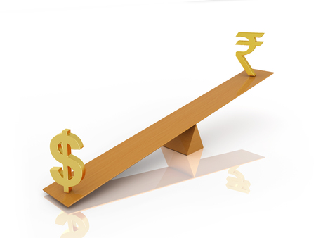 rupee: Balancing with Dollar and Rupee