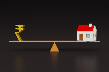 rupee: Property value with 3d Models