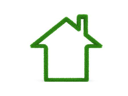 model home: Grass 3D Home Model