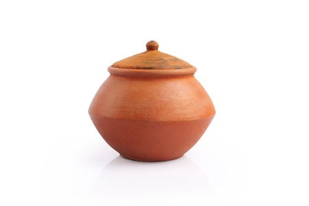 Indian Handmade Pot Stockfoto