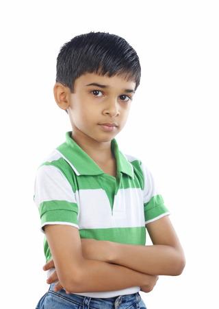 indian teenager: Indian School Boy Stock Photo