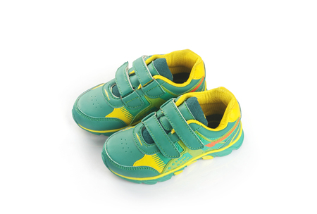 foot ware: Indian Made Kids Foot ware Stock Photo