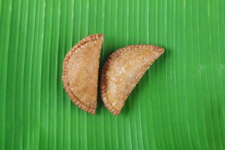 Indian Food Sweet Somas Stock Photo