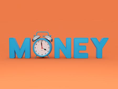 Money concept - 3D Rendering Image