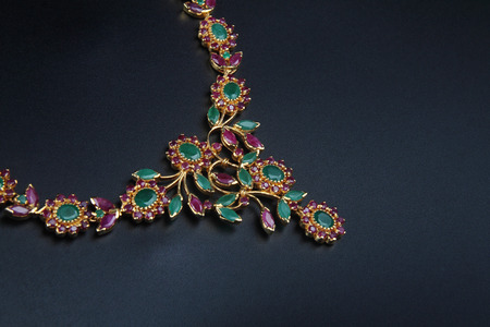 Indische Traditionele Gouden Halsband