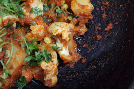 Cauliflower Curry - Indian Food