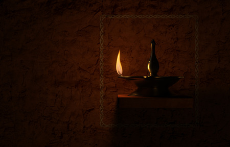 oillamp: Indian Traditional Oil Lamp