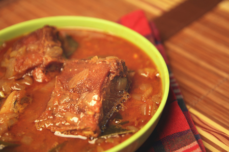 Indian Dried Fish Curry