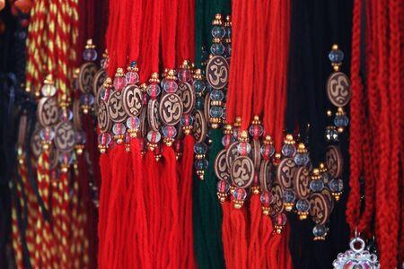 Hindu Sacred Threads with Pentent Banco de Imagens