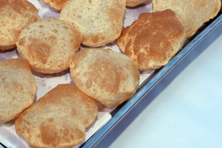 Indian Traditional Food Puri