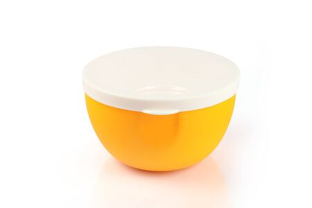 Indian made plastic bowl with lid